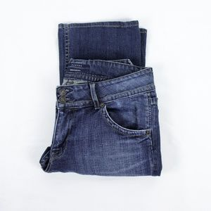 Hudson Jeans Two Button Fly Bootcut Jeans